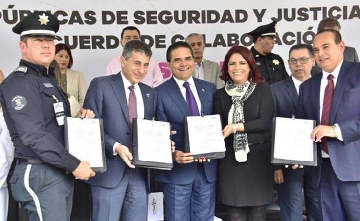 El gobernador del estado, Silvano Aureoles, signa la Carta Intención de la Inclusión de la Perspectiva de Género y Derechos Humanos en Políticas Públicas de Seguridad y Justicia en México