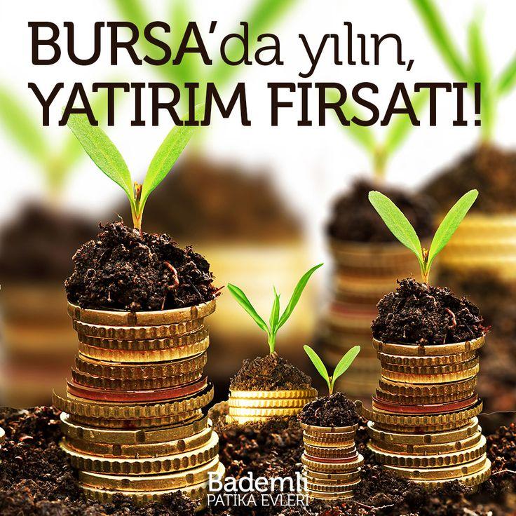 Bursa'da yılın yatırım fırsatı! www.bademlipatikaevleri.com #bursa #bademli #yatırım #villa #ev #proje #investment #turkey #firsat