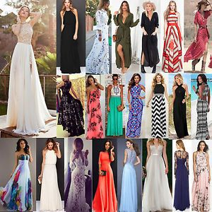 Femme-Bobo-Chic-Ete-Maxi-Longueur-Plage-Robes-Soiree-Cocktail-Robe-Mariage