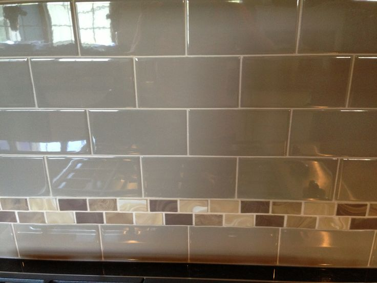 kitchen backsplash minus the accent strip | backsplash | pinterest