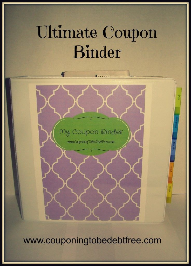 Ultimate Coupon Binder - awesome printables for creating a #coupon www.couponingtobedebtfree.com