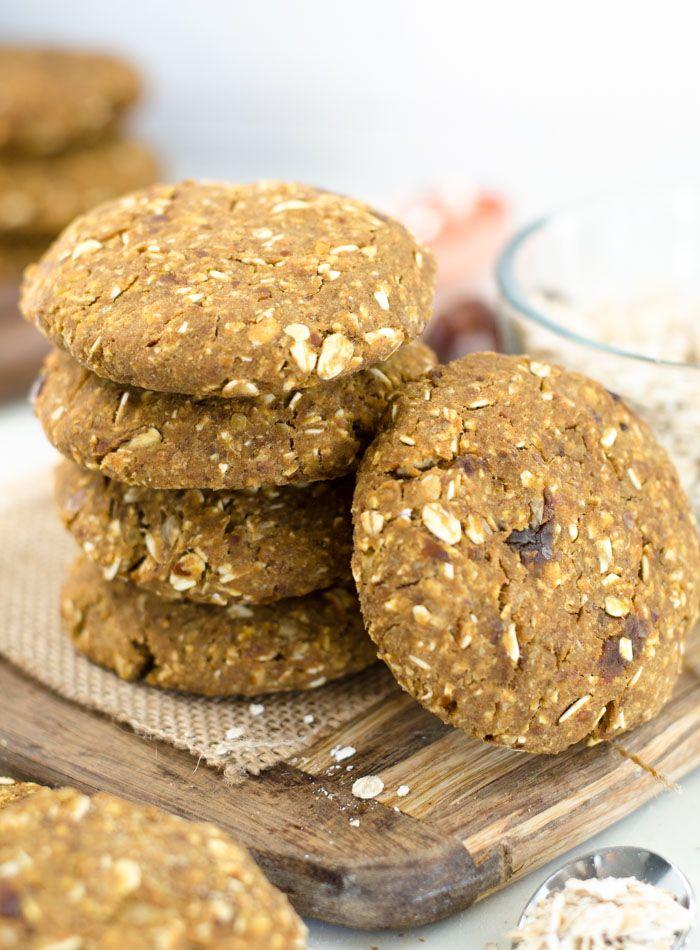 Vegan Chickpea Breakfast Cookies Recipe Breakfast Cookies Vegan Gluten Free Oat Cookies