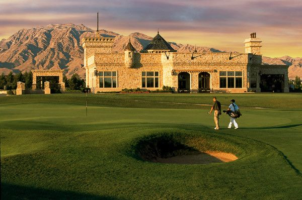 Royal Links Las Vegas -- Inspired by and are near replicas of famous holes featured in the British Open.