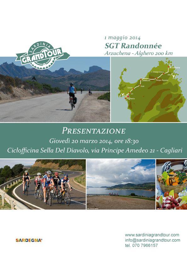 Presentazione Sardinia Grand Tour alla Ciclofficina di Cagliari