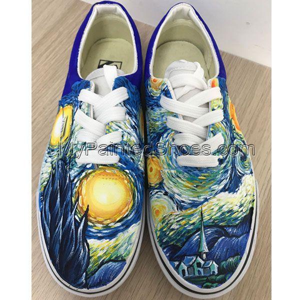 Custom vans shoes, Painted canvas shoes