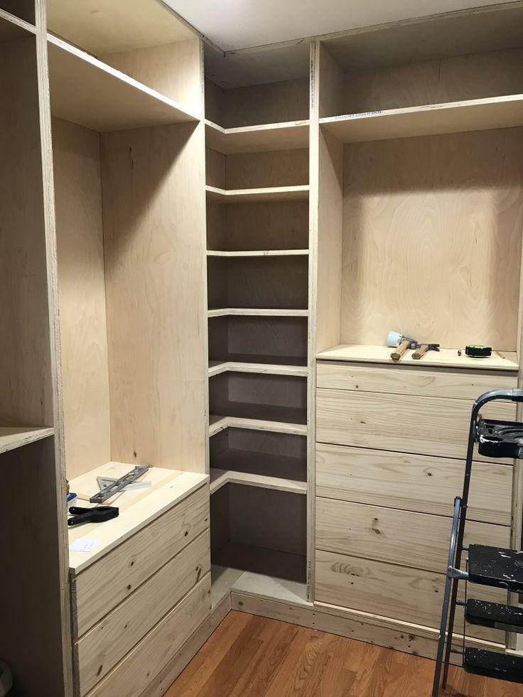DIY Custom Closet - IKEA TARVA & IVAR HACK | Diy custom ...