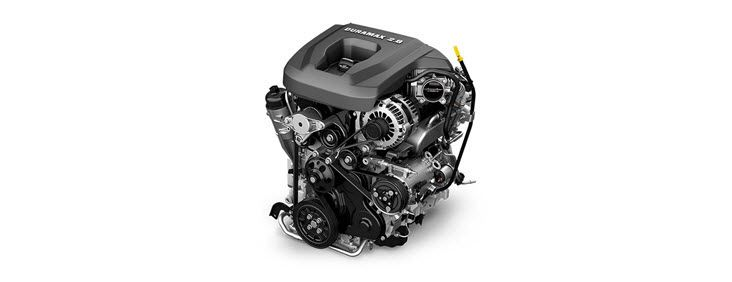 DURAMAX DIESEL ENGINE Like the legendary Duramax V-8, Canyon's available Duramax 2.8L I-4 Turbo Diesel engine delivers abundant torque and horsepower—doing it all efficiently.
