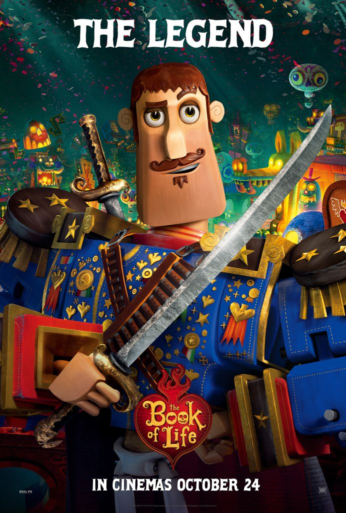 PIPOCA COM BACON I Especial Dia de Finados - Filme: Festa No Céu (The Book Of Life) - 2014 I #PipocaComBacon BOOK-OF-LIFE-JOAQUIN