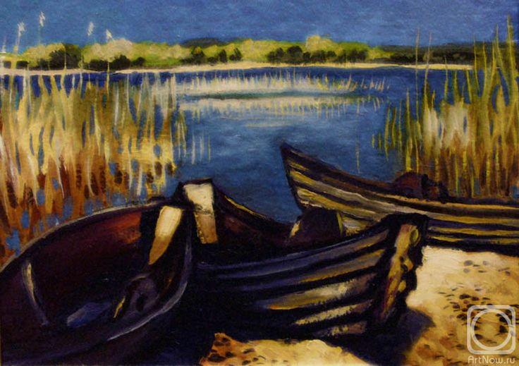 Иванова Ольга. Старые лодки