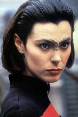 Ensign Ro Laren.  Starfleet's not for everyone. But she is for me!
