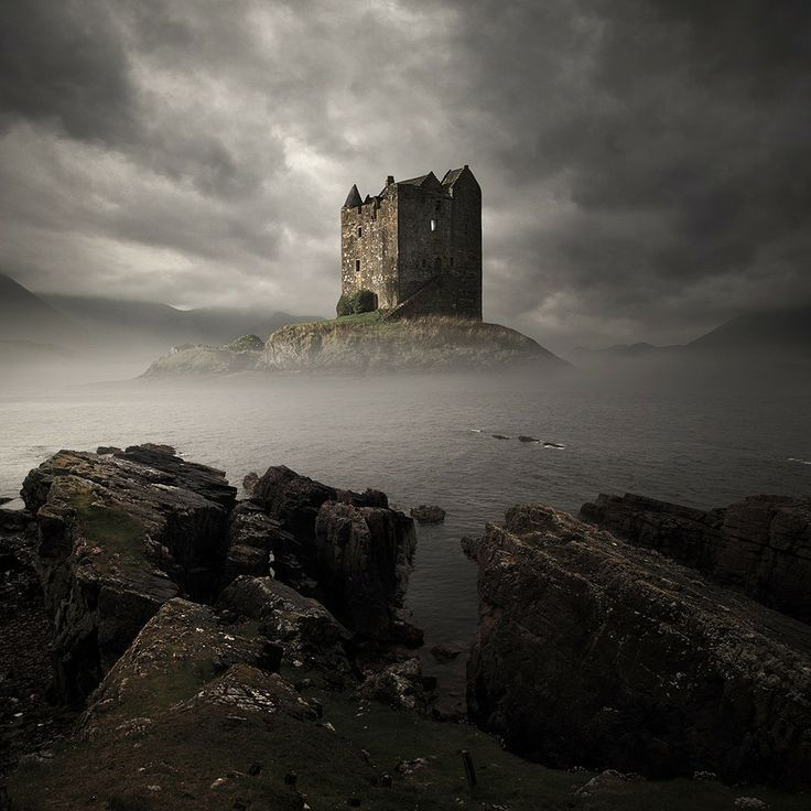 TOP 10 Breathtaking Castles Around The World #5 Will Hypnotize You –Stalker Castle, Scotland: