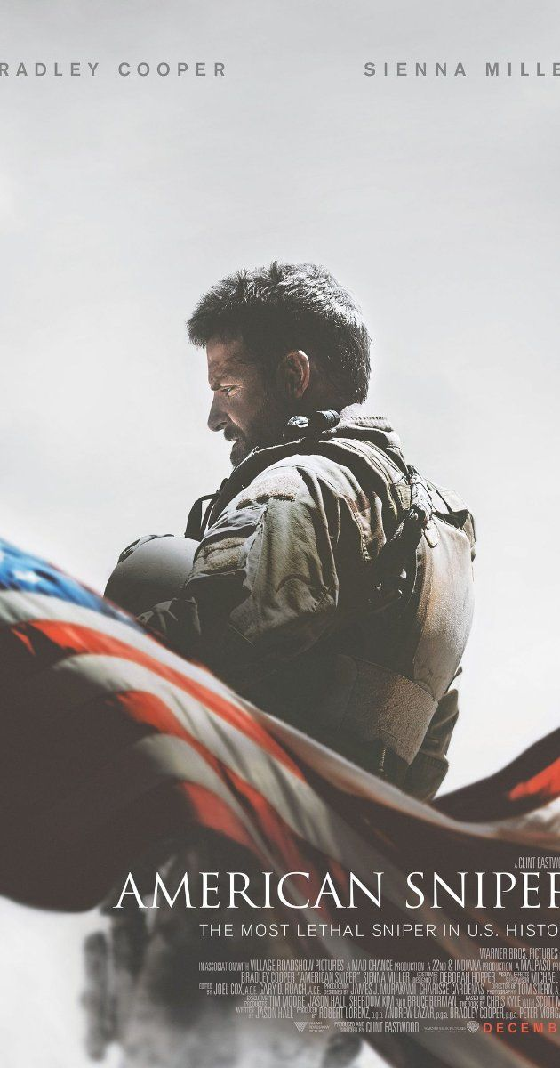 Directed by Clint Eastwood. With Bradley Cooper, Sienna Miller, Jake McDorman, Kyle Gallner. A Navy SEAL recounts his military career, which includes more than 150 confirmed kills.