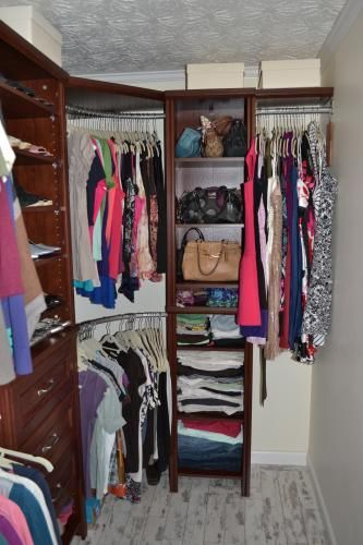 41 best closet images on pinterest for Woodtrac closets