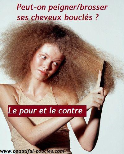Peut-on (quand-même) peigner ses cheveux bouclés, frisés, crépus ? Le pour et le contre… http://beautiful-boucles.com/peut-on-quand-meme-peigner-ses-cheveux-boucles-frises-crepus-le-pour-et-le-contre/