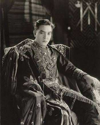 "Happy Sunday from Hollywood's first male sex symbol Sessue Hayakawa!  Sessue was the first actor of Asian descent to find stardom as a leading man in the U.S. and Europe and was as popular as Charlie Chaplin and Douglas Fairbanks during the 1910s and 1920s. Playing roles of sexual dominance and villainy made him a heartthrob to American women. He was so popular that he was initially offered the role in ""The Sheik"" that made Rudolph Valentino a sensation."