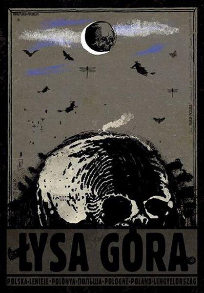 Bald Mountain, Poloand Polska Lysa Gora Kaja Ryszard Polish Poster