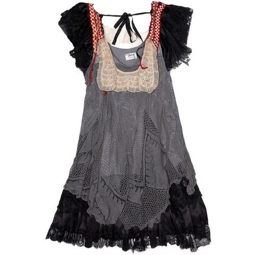 Love this. With jeans or tights and boots.. Black forest mori | Tumblr