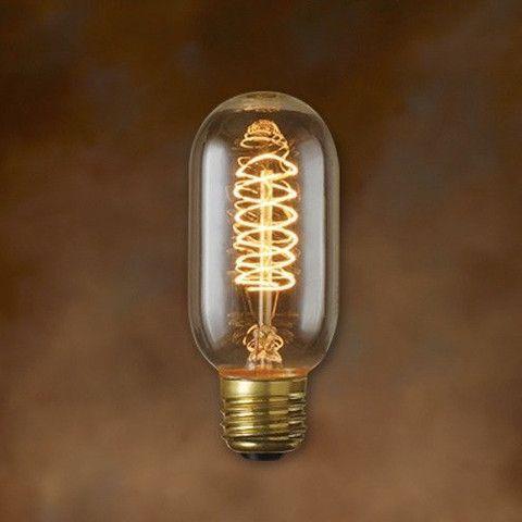 Foco vintage edison de filamento bulbo