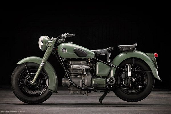 1954 Sunbeam S7    This classic beauty looks as good today as the moment it rolled out of the factory floor.  Inspired by the BMW motorcycles of the second world war, this Vintage Sunbeam Motorcycle exudes class and muscle from tire to tire.  Photographed by Guerry & Pratt Images.