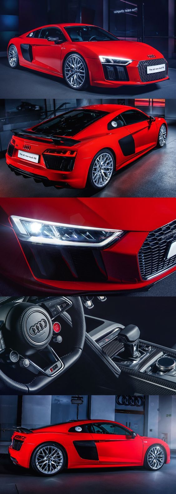 Audi R8 V10 plus - 0-62 mph in 3.2 seconds, 0-124mph in 9.9 seconds, top speed 205mph, combined MPG 23.9 , TuningCult.com