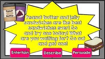 AUTHOR'S PURPOSE GAME SHOW - TeachersPayTeachers.com