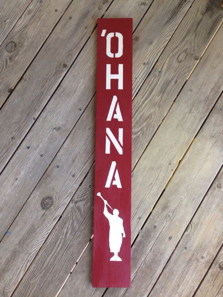 A personal favorite from my Etsy shop https://www.etsy.com/listing/252358888/ohana-with-angel-moroni-wooden-sign