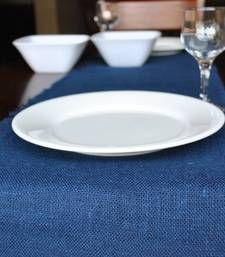 Buy Eco Home Jute Table Runner - Indigo table-cloth online