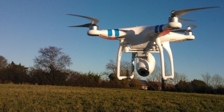 Watch a Phantom drone in action at the Harlem explosion site