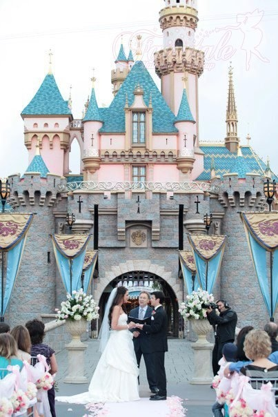 Can I just have this by myself? No wedding just me standing by the castle with no crowds. I'd be okay with the flowers there though.