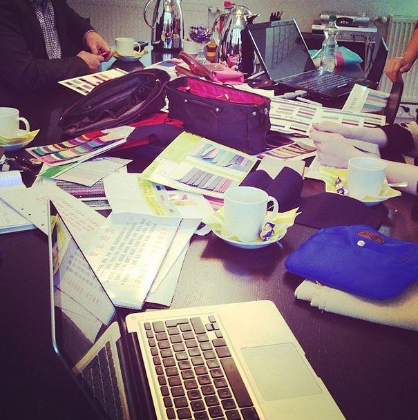 #baginbag team is working hard - we are hustling in #helsinki