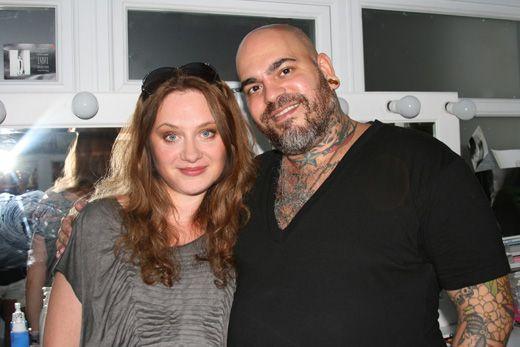 Celebrity make up artist James Vincent at Make Up Atelier