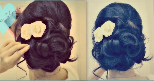 25+ Best Ideas About Short Bridesmaid Hairstyles On