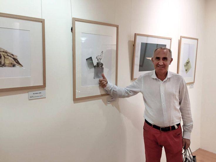 Ramón Álvarez por la exposición en Alvedro