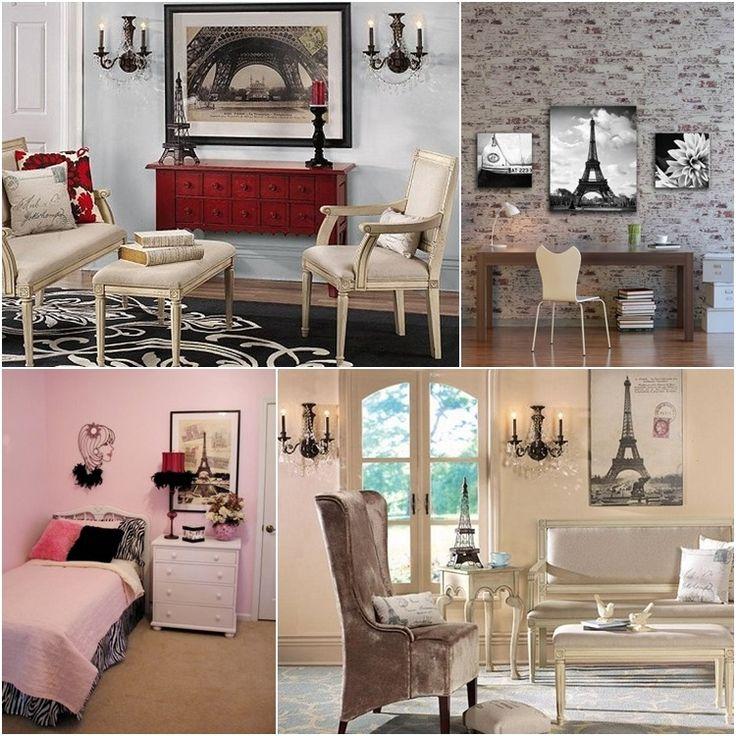 118 best Paris Themed Rooms images on Pinterest Paris themed - paris themed living room