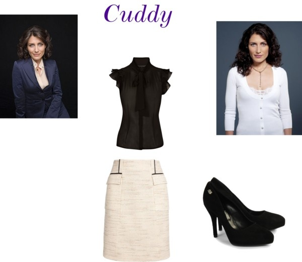 """Lisa Cuddy from House MD"" by dymmo on Polyvore"