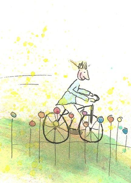 Fahrrad von Helga Fiebig auf DaWanda.com