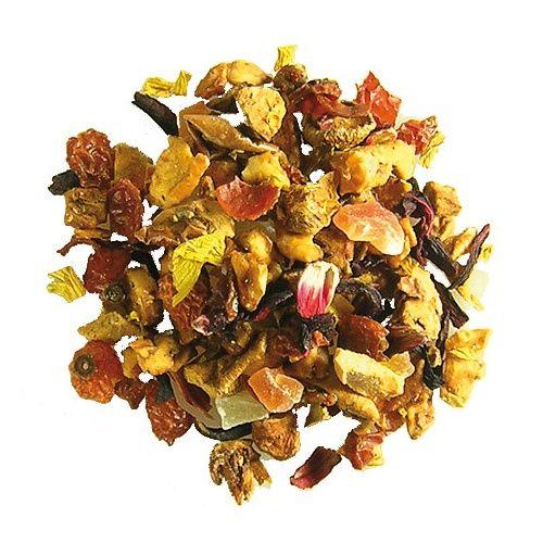 Buy Ronnefeldt Rhubarb-Cream (Grannys Garden®) Loose Leaf Tea Online - Cup of Tea Ltd