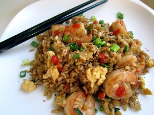 fried brown rice recipe