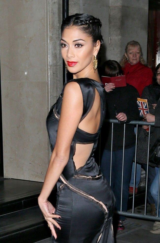 Nicole Scherzinger le 5 novembre 2012 à Londres