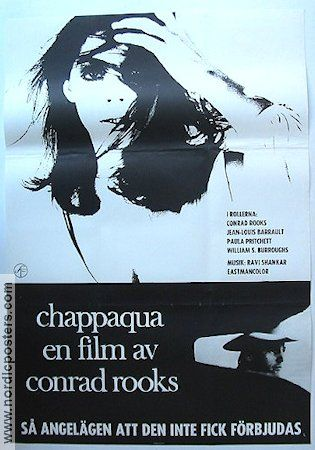 """Chappaqua"" (1966) Swedish Poster"