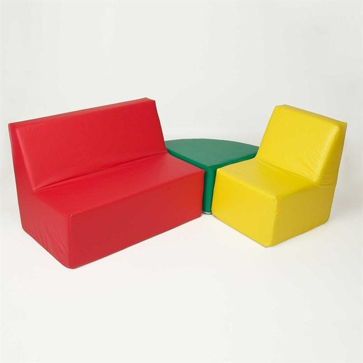 Straight Back Seating Group: Classic Childrenu0027s Furniture | Foamnasium
