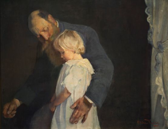 Poor Little One - Oda Krohg