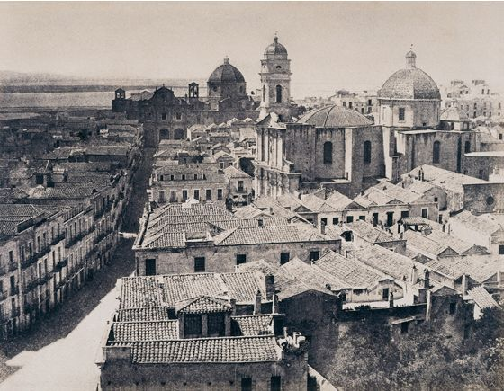Edouard Delessert, Cagliari, Via San Michele, 1854
