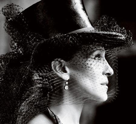 Vogue May 2010 #sjp #tophatVogue, Mario Testino, Fashion, Sjp, Sarahjessicaparker, Carrie Bradshaw, Sarah Jessica Parker, Haute Couture, Tops Hats