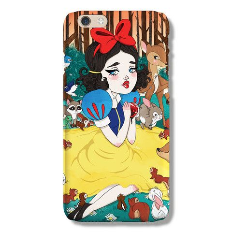 Snow White iPhone 6 case from The Dairy www.thedairy.com #TheDairy #PhoneCase #iPhone6 #iPhone6case