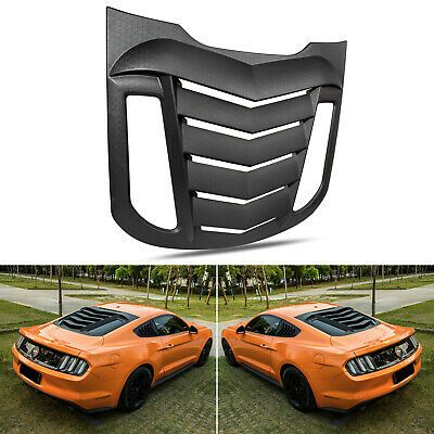 Sponsored Ebay Rear Window Louvers Sun Shade Cover For Ford Mustang 2015 2020 Matte Black In 2020 2015 Ford Mustang 2015 Mustang Shade Cover