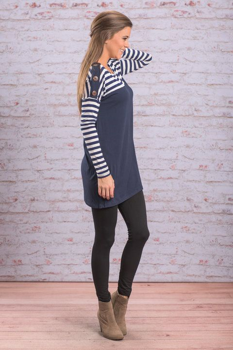 """Festive Day Dress, Navy"" ""Festive Day Dress, Navy"" Any time you wear this dress will be a festive day! The color is perfect for the fall and winter season! #newarrivals #shopthemint"