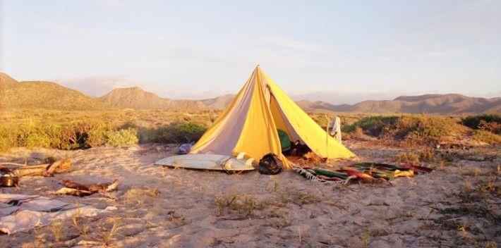 How to set up camp at the beach | Matador Network