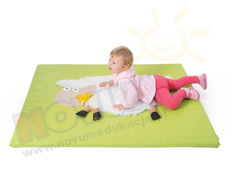 NOVUM - Materac sensoryczny Owieczka  #novum #novumedukacja #kids #forkids