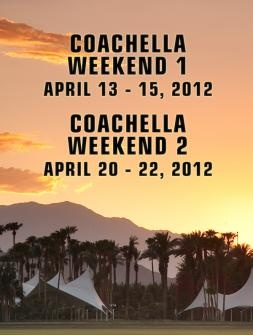 Coachella - Weekend 2! Can't Wait! Natalie, Leah and I our gonna wear our hipster best and have fun!